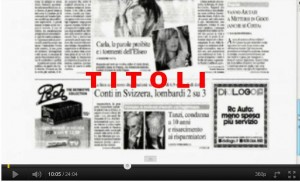 TITOLI CONTATTO 20 OTT