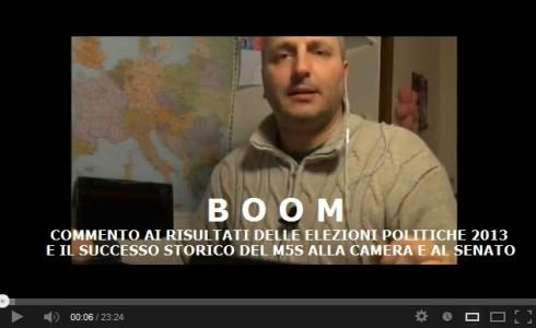 BOOM M5S ELEZIONI POLITICHE 2013