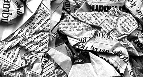 Disinformazione giornali carta