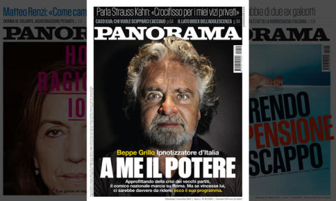 beppe grillo panorama