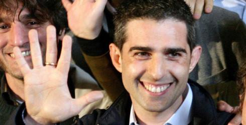 Parma, elezioni amministrative. La gioia di Federico Pizzarotti