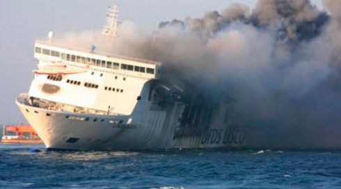 norman atlantic incendiata