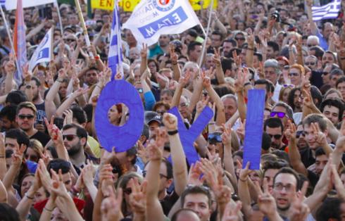 grecia popolo voto