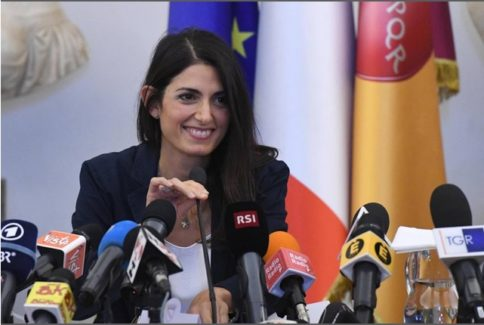 virginia raggi olimpiadi conferenza stampa