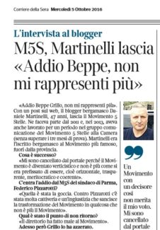 corriere bg intervista martinelli