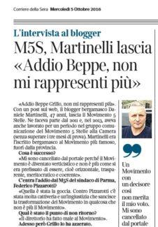 corriere bg intervista martinelli